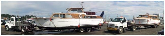Your boat moving professionals for transporting or hauling your boat(s) or vessel on Central Vancouver Island!